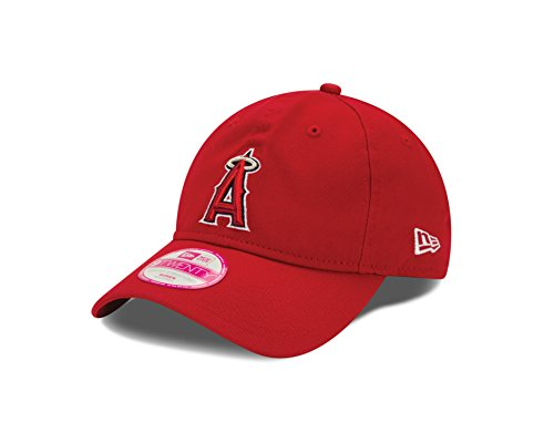 - New Era MLB Anaheim Angels Women's Essential 9Twenty Adjustable Cap