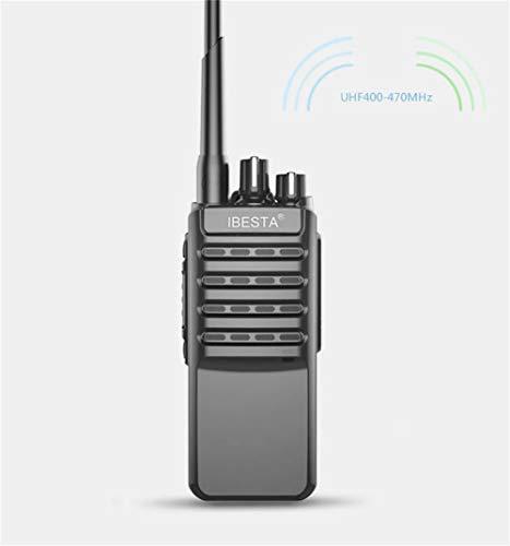 HDJ Walkie Talkies,High Power 50 Km Waterproof Handheld Engineering Property Walkie (Black, 1 Pair) by HDJ (Image #3)