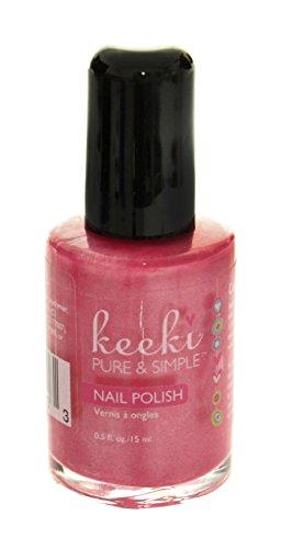 Keeki Pure & Simple Nail Polish, Cotton Candy.5 Fluid Ounce