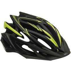 Volt Race/Road Helmets Black/Red Slash ()