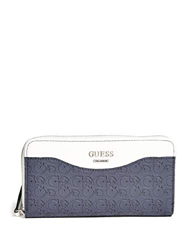 GUESS Factory Women's Cianna Logo Zip-Around Wallet ()