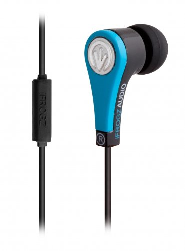 Jwin Electronics Blackberry (iFrogz Quake Earbuds with Microphone - Blue)