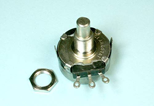 (F #65) 1pc Clarostat Linear Taper Potentiometer 10K ohm, 2 watts, 1/4 Shaft ()