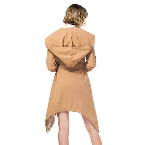 Algodón Ropa Larga Formal Punto Capa Mujer 2019 Casual Abrigo Tops De Mujer Ashop Chaquetas Suelto Caqui wvxfn1
