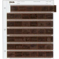 Archival 35mm Size Negative Pages Holds Seven Strips of Six Frames, Pack of 100 from Print File