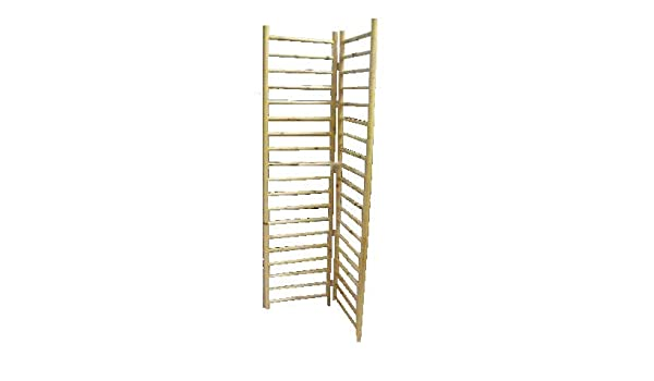5 H Log tacos de madera Escalera accesorio de, 1 par de 2 Panel ...