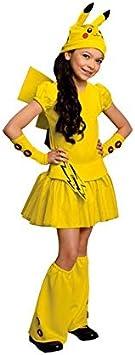DISBACANAL Disfraz Pikachu Pokemon niña - -, 3-4 años: Amazon ...