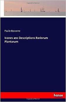 Icones ans Descriptions Rariorum Plantarum