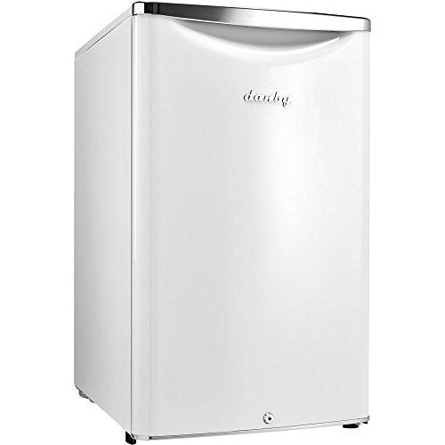 Danby DAR044A6PDB Contemporary Refrigerator Metallic