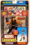 vintage action figures - Marvel Legends Giant Man Series Weapon X Action Figure with Giant Man Builder Piece