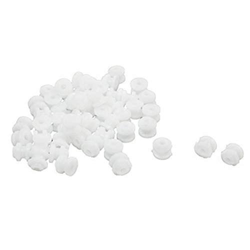 (Domccy 50Pcs Plastic Spindle Pulley 6mmx5mm for 2mm RC Toy Motor Drive Shaft (White) Baby and Toddler Toys and Games, Dolls, Puzzle Plush Toys, Baby Gifts)