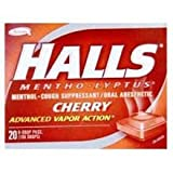 Halls Sticks Cherry # 62476 (Pack of 480) (Pack of 48)0