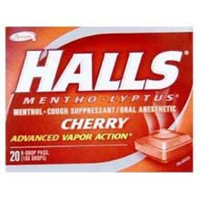 Halls Sticks Cherry # 62476 (Pack of 480) (Pack of 48)0