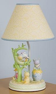 Kids Line Snug As A Bug Lamp Base & Shade