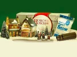 Trees Department 56 Start a Tradition Set of 13 Town Square Shops with Carolers Road /& Snow 58327