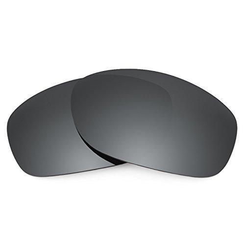 Revant Polarized Replacement Lenses for Oakley Pit Bull Black Chrome - Pitbull Polarized Oakleys