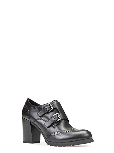 High Geox Tacco D D con Lise Nero Donna New Scarpe trwBrv