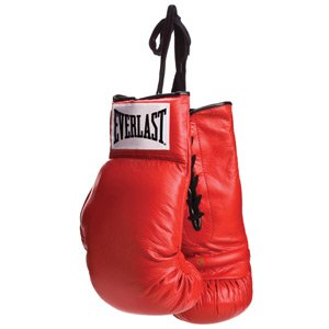 Everlast Autograph Boxing Gloves - - Glove Everlast Red Boxing