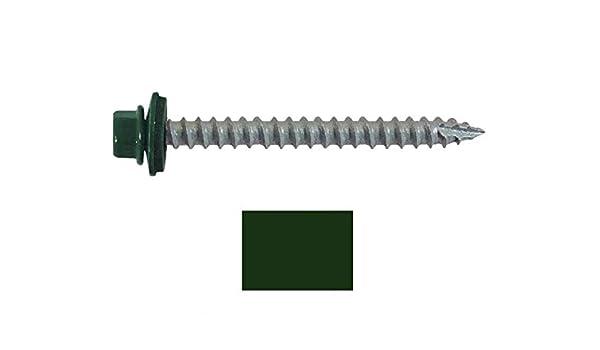 ... (250) tornillos de metal 14 x 2 - 1/2