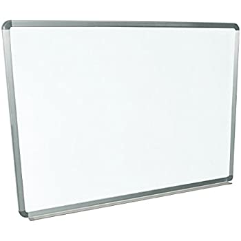 Amazon Com Luxor Wb4836w Wall Mounted Whiteboards 48 Quot W