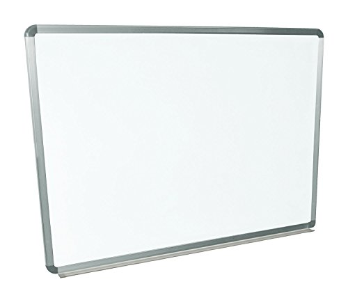 Offex 48''W x 36''H Wall Mounted Magnetic Whiteboard by Offex