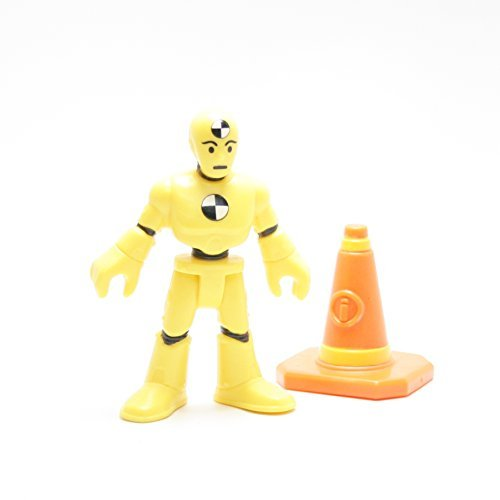 Fisher-Price Imaginext Collectible Figures Series 5 - Crash Test Dummy by (Crash Test Dummy Toys)