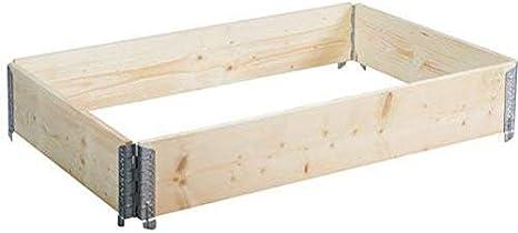 bellissa Noppenbahn Hochbeet Noppenfolie 80cm x 6,5m für Holz-Hochbeete