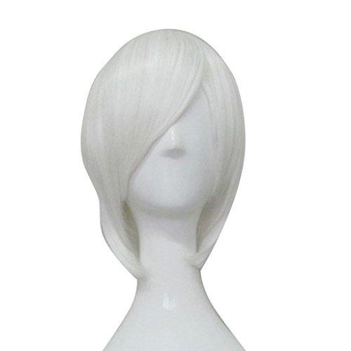 Ichimaru Gin Cosplay Costume (Mtxc BLEACH Cosplay Ichimaru Gin Wig White)