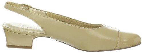 mujer Nude Piel destalonados Zapatos Trotters Color Dea Yxqtxwg