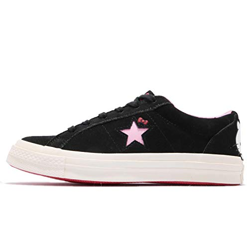 Converse Chuck Taylor All Star Lo Hello Kitty Fashion Sneakers (Black One Star, 10 Women / 8 Men B US) Converse One Star Shoes