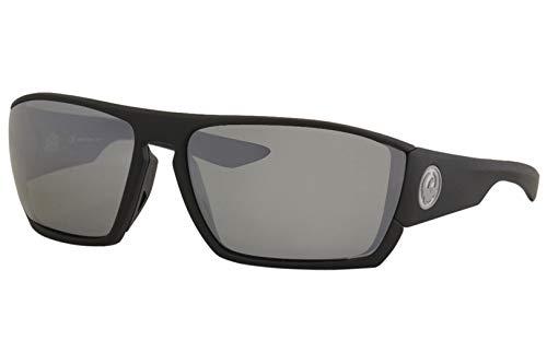 Sunglasses DRAGON DR CUTBACK H 2 O 006 MATTE BLACK H2O WITH SILVER ION ()