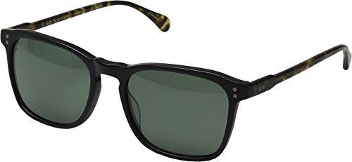 Raen Wiley Polarized Rectangular Sunglasses, Matte Black/Matte Brindle, 54 - Zeiss Carl Sunglasses