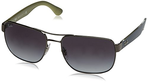 Ray-Ban Men's 0RB3530 Square Polarized Sunglasses (Ray Ban Online Shop)
