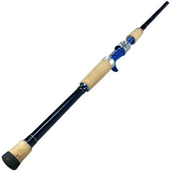 Okuma's Nomad Inshore Saltwater Multi Action Travel Rods-NTi-C-703M-MH  (Blue/Black, 7-Feet)