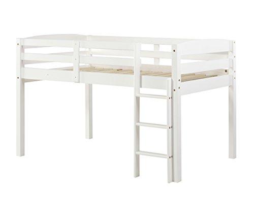 Concord T1303 Junior Loft Bed, Twin, White ()