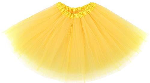 Jenny Ladies Girls Women Adult Tutu Skirts Mini Ballet Princess Fancy Dress Party (one Size, -