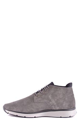 Hogan Mcbi148512o Sneakers In Camoscio Grigio