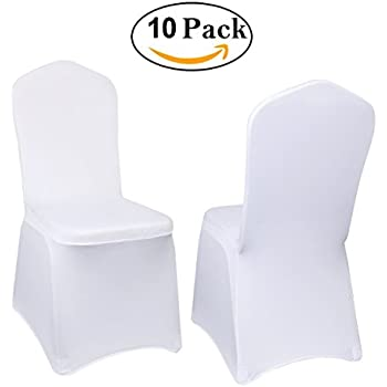 Amazon Com Iswees Set Of 10 Pcs White Color Polyester