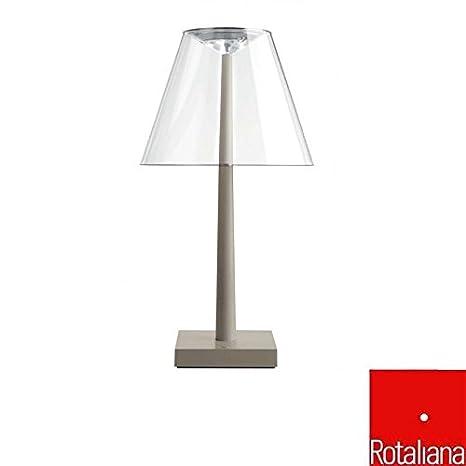 Rotaliana Dina+ LED Table Lamp Silver - - Amazon.com