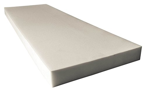 (Mybecca Upholstery Foam Cushion New High Density Seat Replacement, Upholstery Sheet, Foam Padding (2x24x72))