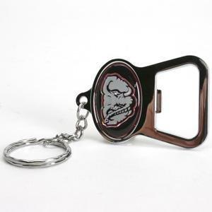 alabama metal key chain and bottle opener w domed insert sports related key. Black Bedroom Furniture Sets. Home Design Ideas