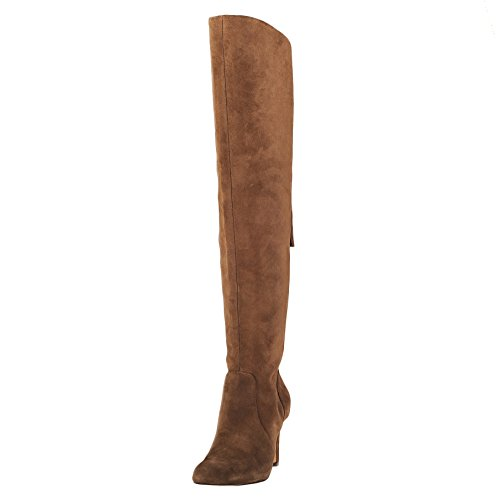 Vince Camuto Women's Cherline Riding Boot, Valley Wood, 8.5 M US by Vince Camuto