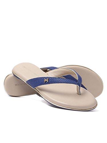 Butterfly Vendinger Lola - Ametyst Slange (blå) Kvinners Sandaler