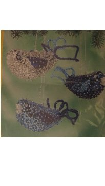 Sunrise Blue Bird Trio Beaded Ornament Kit Makes (Beaded Trio)