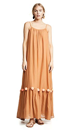 Cleo Maxi Dress - Sundress Women's Cleo Dress, Cinnamon/Flamingo, Tan, XS/S