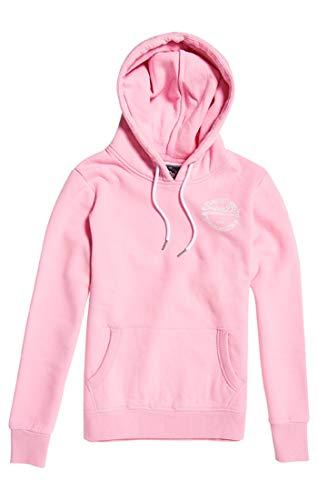 Entry fondant Rosa V Heritage J4g Donna Pink Superdry Logo Felpa Hood 8g4t8q