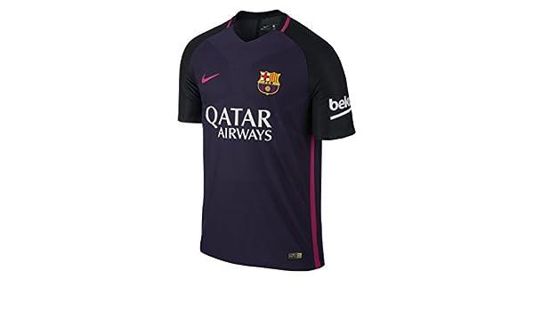 Nike FC Barcelona M SS AW Vapor Match JSY Camiseta de Manga Corta ... 94444b3fe9c