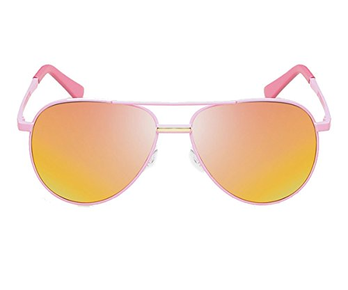 Heartisan Unisex Fashion Aviator Tinted Polarized Lens Sunglasses - Bulk Australia Sunglasses