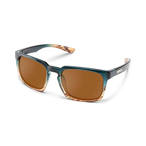 Suncloud Hundo Polarized Sunglasses by Polaroid Medium Fit 55mm
