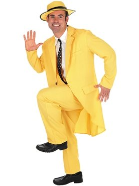 Yellow Suit (Halloween Film Characters Costumes Uk)